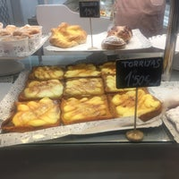 Photo taken at Panadería Santa Lucía by Martí B. on 3/30/2018