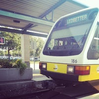 Photo taken at Downtown Garland Station (DART Rail) by Zignat A. on 9/9/2013