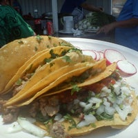 Photo taken at Tacos & Quecas de la Cruz Roja by George S. on 5/3/2013