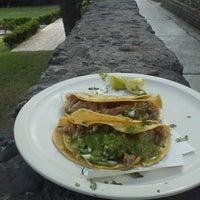Photo taken at Tacos & Quecas de la Cruz Roja by George S. on 10/19/2012