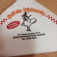Photo taken at Galeto Diplomata by Wilson D. on 3/28/2014