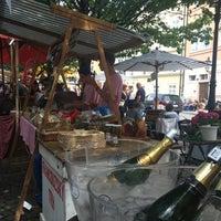 Photo taken at Francouzský trh na Kampě by olga Q. on 7/16/2017