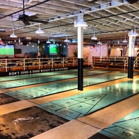 Photo taken at The Royal Palms Shuffleboard Club by Erica Y. on 6/13/2015