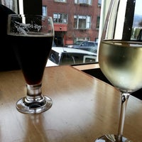 Photo taken at Celilo Restaurant & Bar by Lisa W. on 11/8/2013
