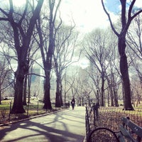 Photo taken at Central Park E 69th entrance by Rory J. on 3/29/2013
