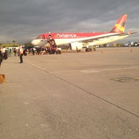 Photo taken at Aeropuerto Internacional Palonegro (BGA) by Saul L. on 12/4/2013