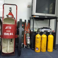 Photo taken at Ju'aymah Advanced Fire Training Center by Hamad A. on 11/18/2013