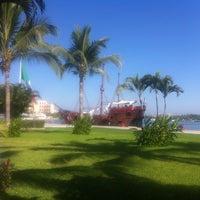 Photo taken at Embarcadero Marina Vallarta by Lope G. on 3/24/2013