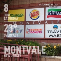 Photo taken at Montvale Service Area by Roxy &. on 6/8/2013