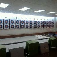 Photo taken at King's Archery Sports Centre by Hattie L. on 2/13/2013