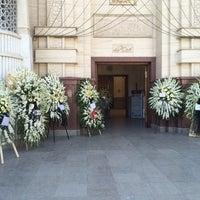 Photo taken at Shahrak-e Gharb Mosque by Khosrow M. on 3/25/2014