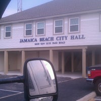 Photo taken at Jamaica Beach Fire, EMS, & Police Dept by Jason D. on 7/2/2013