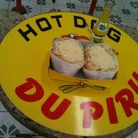 Photo taken at Hot Dog Du Piru by Fernando M. on 1/9/2013
