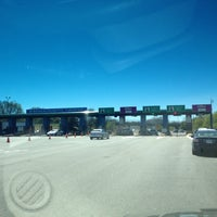 Photo taken at I-90 Weston Toll Plaza from / to I-95 (Exit 14) by Matt W. on 5/1/2013