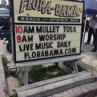 Photo taken at Flora-Bama Lounge, Package, and Oyster Bar by Kenneth P. on 4/28/2013