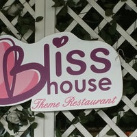 Photo taken at Bliss House Theme Restaurant by Maya A. on 1/16/2017