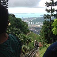 Photo taken at Penang Hill by Tjong K. on 8/21/2014