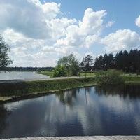 Photo taken at Парк «Сосны» by Мила С. on 5/23/2018