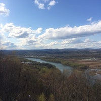 Photo taken at Scenic Overlook by Conor C. on 5/4/2014