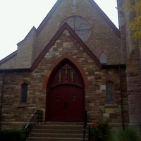 Photo taken at Holy Cross Church by Conor C. on 11/3/2013