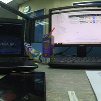 Photo taken at Pejabat Hubungan Universiti dan Industri by Fazren H. on 4/24/2016