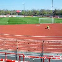 Photo taken at Südstadion by Thomas on 4/20/2013