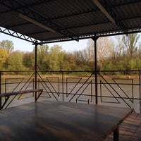 Photo taken at Река Кубань (г.Кропоткин) by Alina K. on 4/18/2014