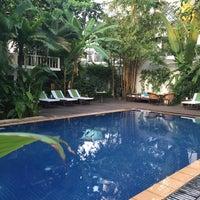 Photo taken at Villa Langka by Ozge K. on 6/5/2015