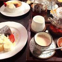 Photo taken at cafe shuu by Nanako Y. on 12/27/2015