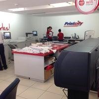 Photo taken at Printcity Etc by Luis H. on 6/12/2014