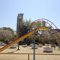 Photo taken at 市岡元町公園 by Yum .. on 4/9/2013