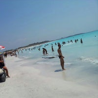 Photo taken at Spiagge Bianche by Rafael Alberto P. on 8/5/2012