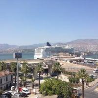 Photo taken at İzmir Limanı by Deniz C. on 7/18/2012