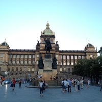 Photo taken at Saint Wenceslas statue by Chewy on 8/15/2012