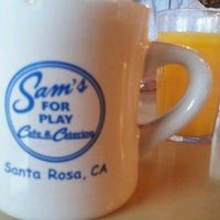Photo taken at Sam's For Play Cafe & Catering by Kyle on 7/26/2012