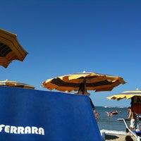 Photo taken at Bagno Ferrara by AliCe on 8/8/2012