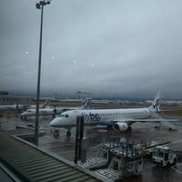 Photo taken at George Best Belfast City Airport (BHD) by Chris G. on 1/6/2013