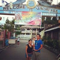 Photo taken at Pantalan (Zumarraga W. Samar) by Arieschen Jill V. on 6/12/2013