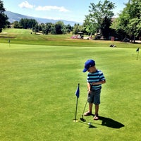 Photo taken at Davis Park Golf Course by Nick S. on 7/12/2014