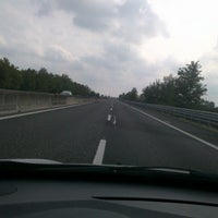 Photo taken at Autostrada A13 by Marco M. on 9/23/2012