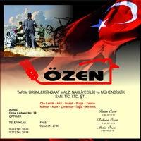 Photo taken at Özen Tarım İnşaat Ltd Şti by Rıdvan O. on 1/31/2014