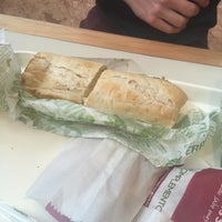 Photo taken at Quiznos Sub by Valeria P. on 3/22/2016
