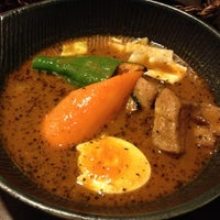 Photo taken at Soup Curry lavi エスタ(ESTA)店 by Shintaro K. on 10/18/2012