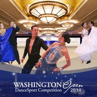 Photo taken at Washington Open DanceSport Competition by Laura A. on 10/2/2013