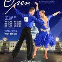 Photo taken at Washington Open DanceSport Competition by Laura A. on 11/4/2014