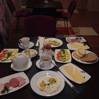 Снимок сделан в Jam Hotel Lviv пользователем Liubasik A. 12/26/2015