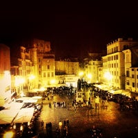 Photo taken at Campo de' Fiori by Ivan M. on 4/24/2013