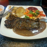 Photo taken at Joni Steak by Firman C. on 9/28/2012