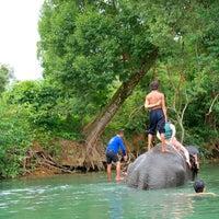 Photo taken at Keereeta Lagoon, Koh Chang by BECHARMING 1. on 7/22/2013