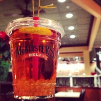 Photo taken at McAlister's Deli by Derek M. on 12/21/2012
